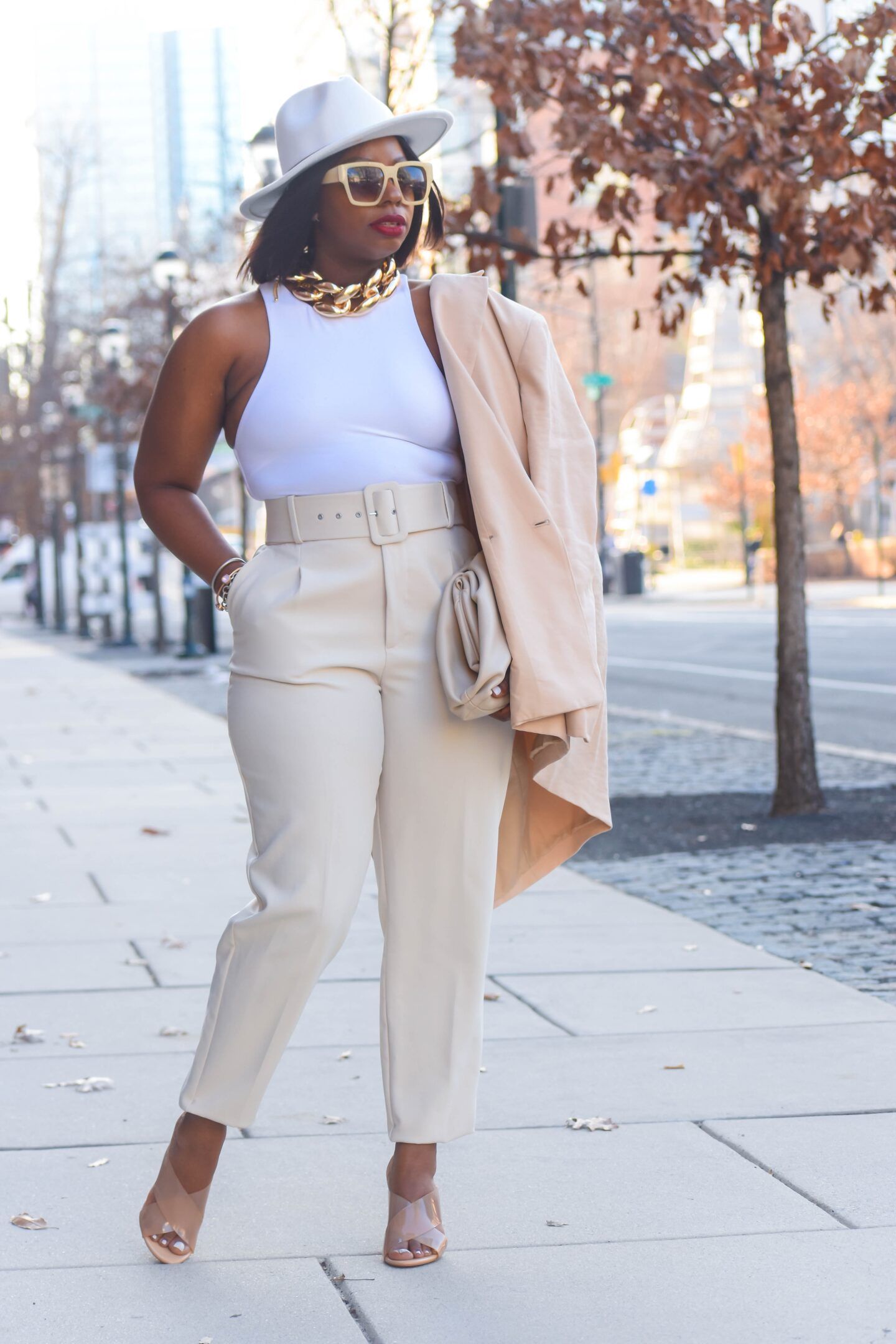 How to Wear Shades of White for Spring