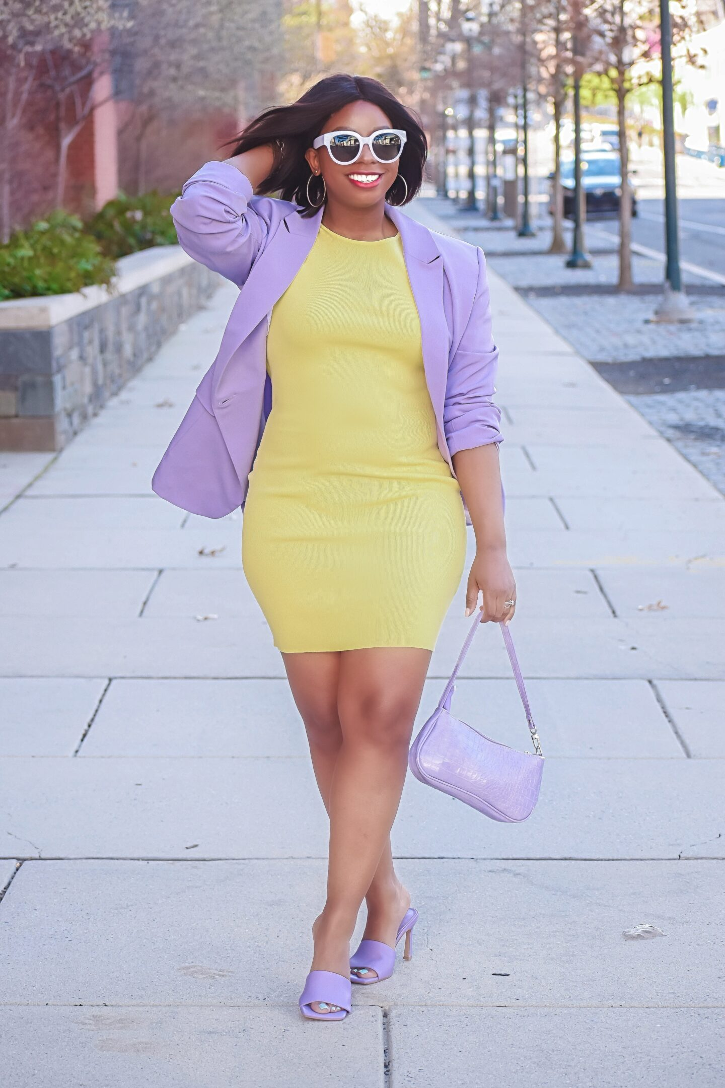 Lilac and Yellow: How to Wear Two of Spring's It Colors